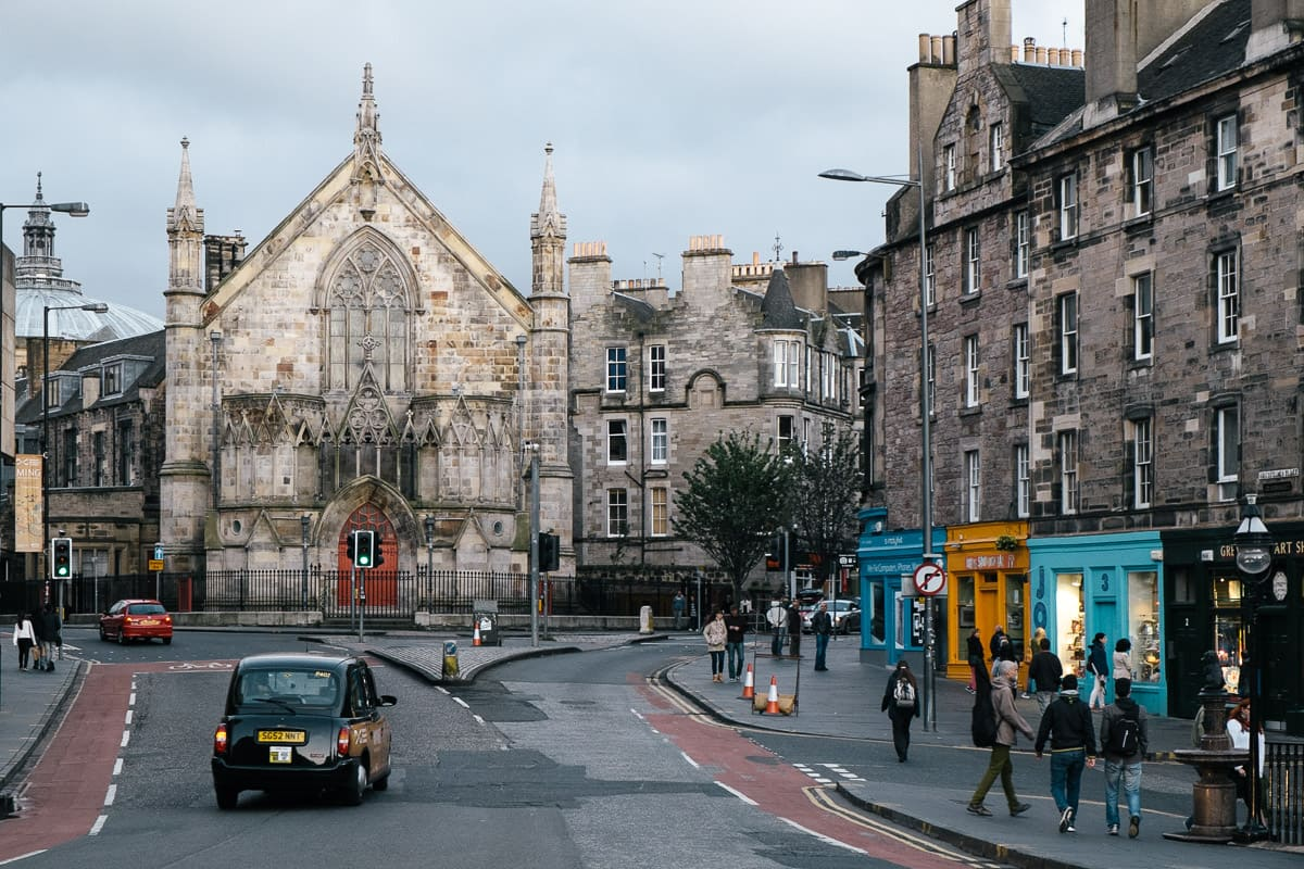 Edinburgh, photographed by Stijn Out
