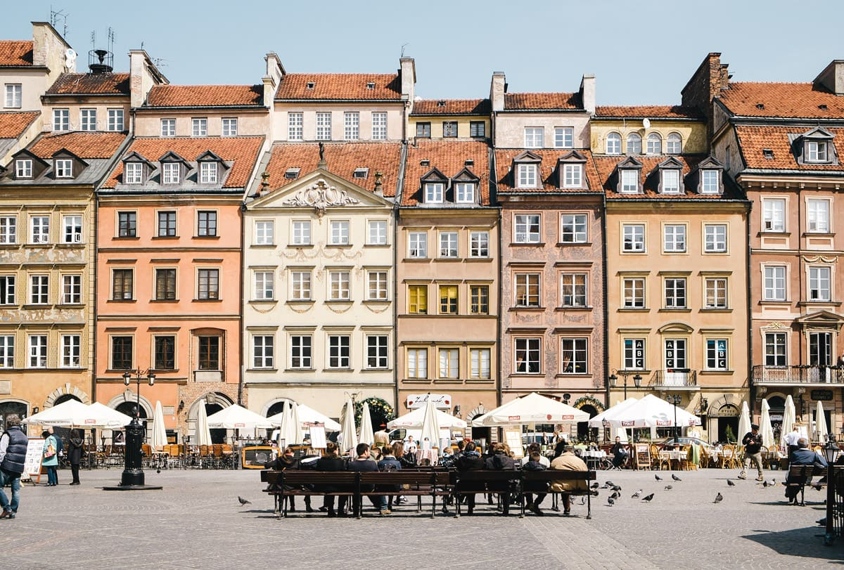 Warsaw, photographed by Stijn Out